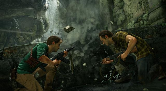 Uncharted 4 Multiplayer Footage